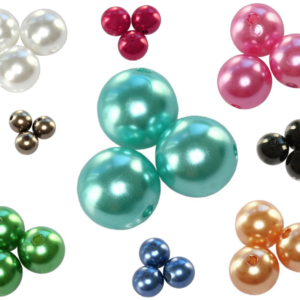 Plastové perly